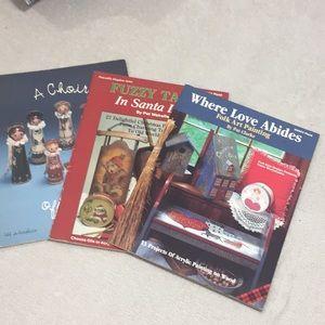 Vintage Books-Folk Art, Christmas & Angel Projects